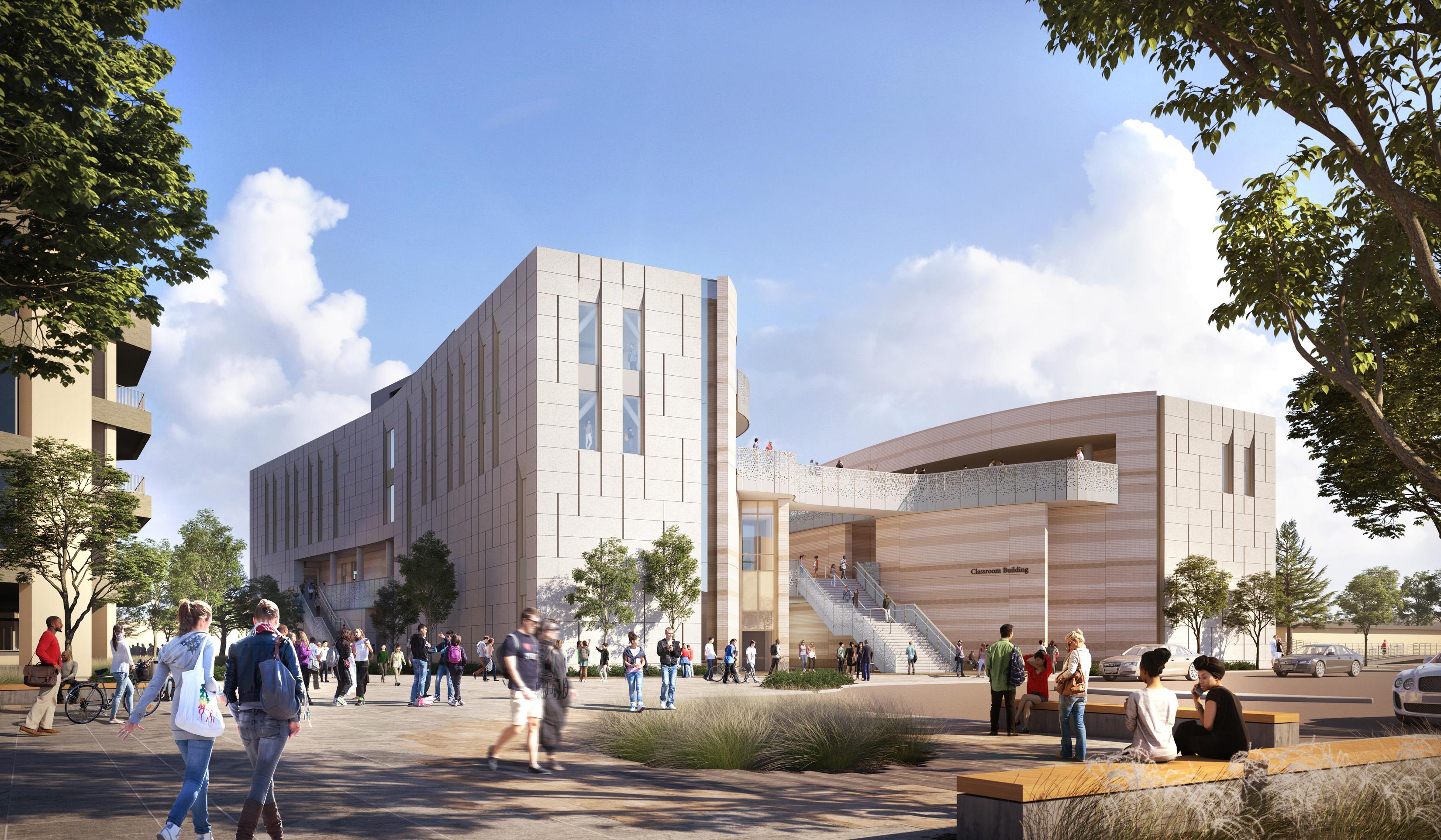 Visualisering av Classroom Building