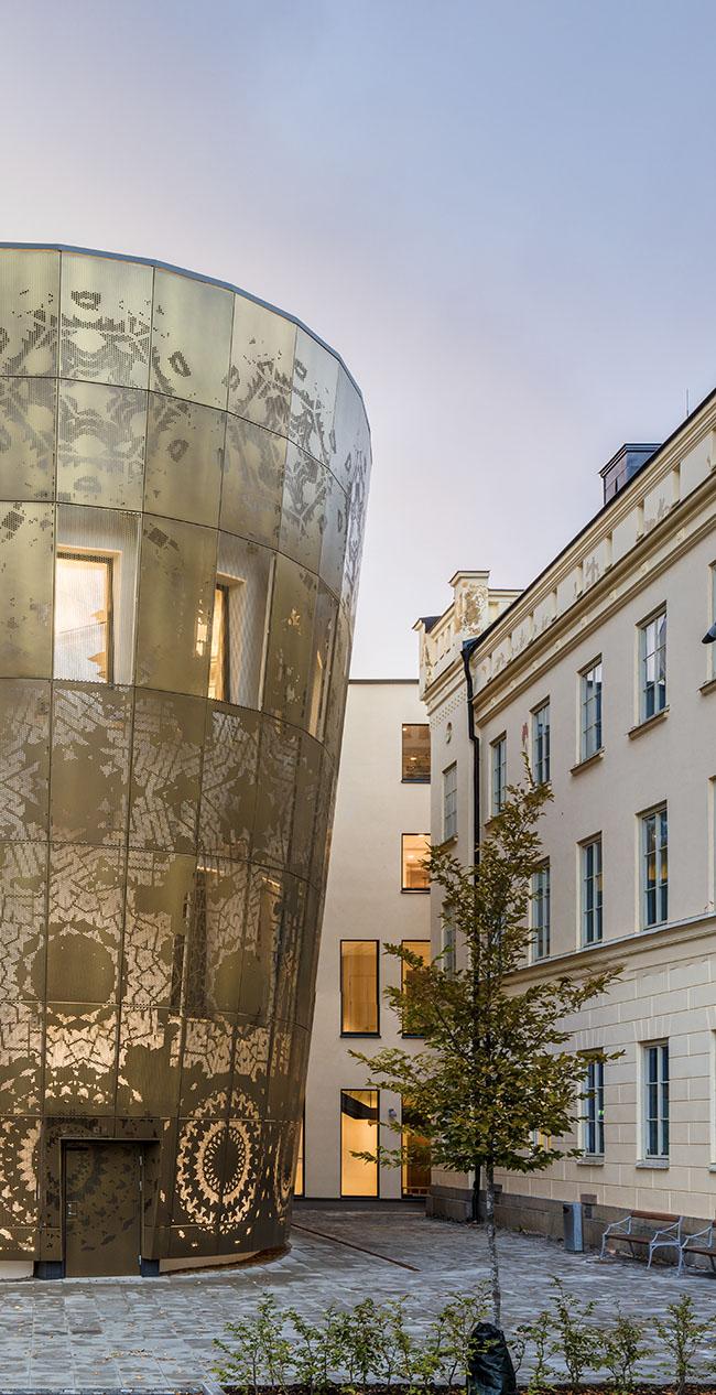 Humanistiska teatern, vid Uppsala universitet.