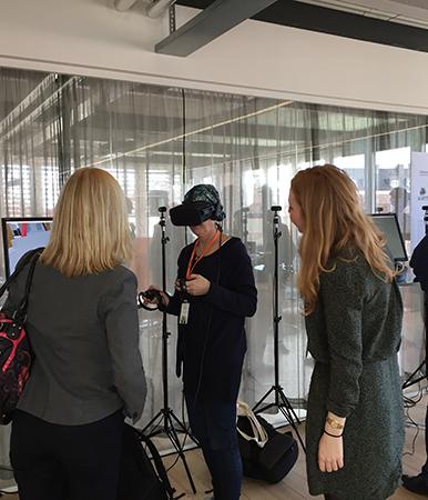 Virtual Reality (virtuell verklighet) kan användas som inlärningsredskap