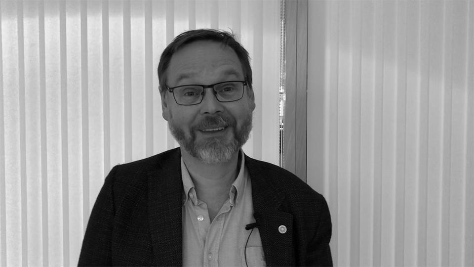 Johan Sterte, rektor vid Karlstads universitet.